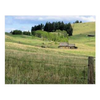 Old Ranch House Boundary, B.C. Postcard