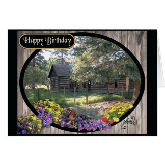 """""""Old Ranch House"""" Card"""
