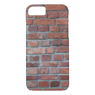 Old red brick wall iPhone 7 case