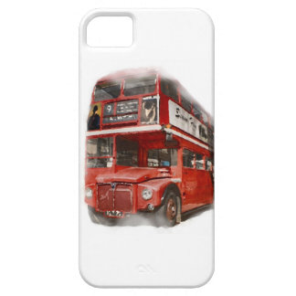 Old Red London Bus iPhone 5 Case