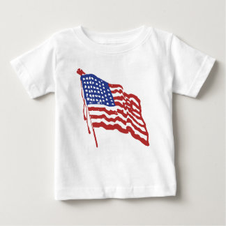 Old Red White and Blue Baby T-Shirt