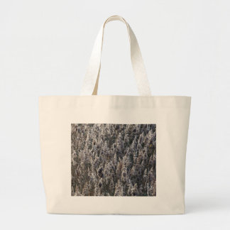 Old reed grass large tote bag