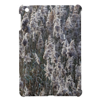 Old reed grass on a winter day. iPad mini cover