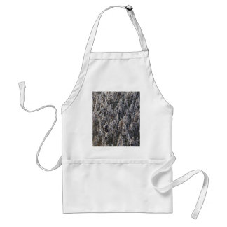 Old reed grass standard apron