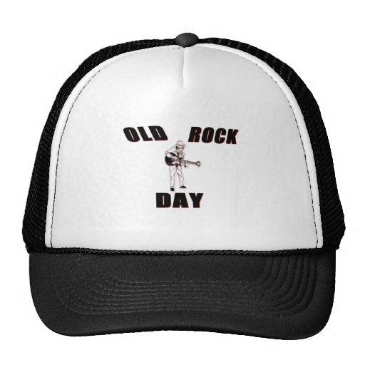 Old Rock Day Trucker Hats