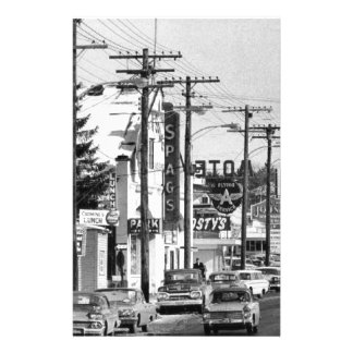 Old Rt 9 SPAGS in shrewsbury Ma Stationery Design