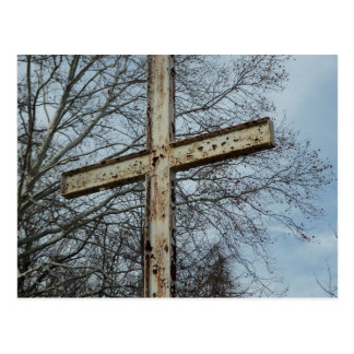 Old Rugged Cross Postcard