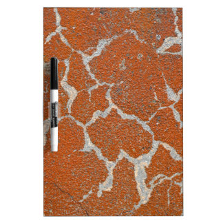 Old russet color on concrete Dry-Erase board