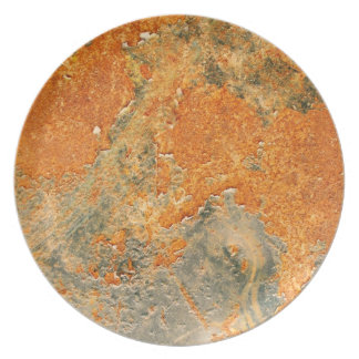 Old Rusted Corroded Iron Metal Plates
