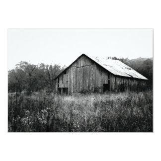 Old Rustic Barn Card
