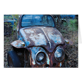 Old Rusty Car, Humor Card
