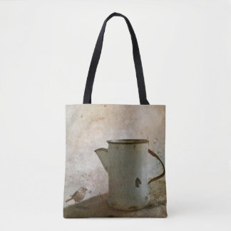 old Rusty Milk Pitcher Tote Bag