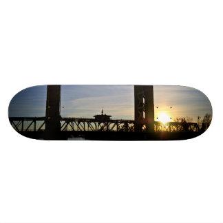 Old Sacramento Bridge Skateboard