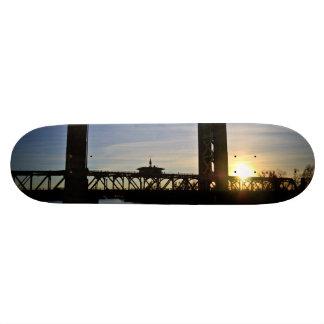 Old Sacramento Bridge Skateboard Decks
