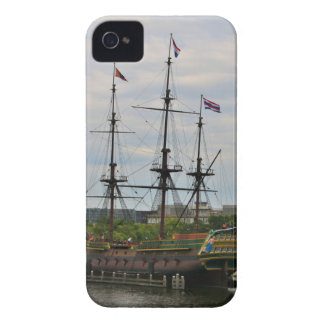 Old sailing ship, Amsterdam, Holland iPhone 4 Case