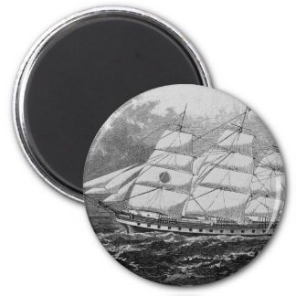 Old Sailing Ship Magnet