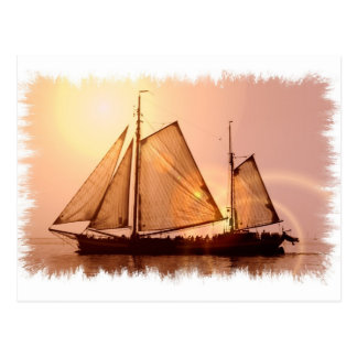 Old Sailing Ships Postcard