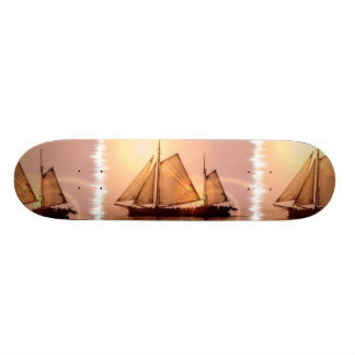 Old Sailing Ships Skateboard