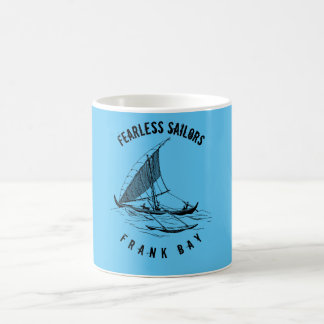Old sailing vessel coffee mug