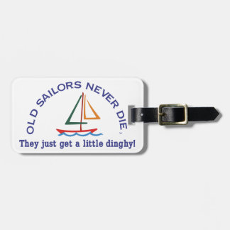 Old Sailors Luggage Tag