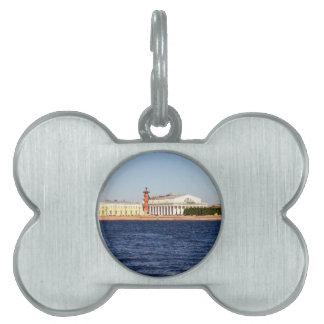 Old Saint Petersburg Stock Exchange Pet Tag