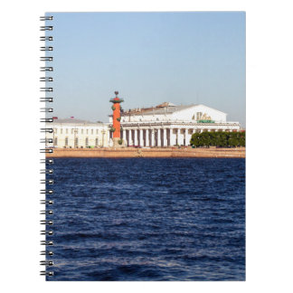 Old Saint Petersburg Stock Exchange Spiral Note Book