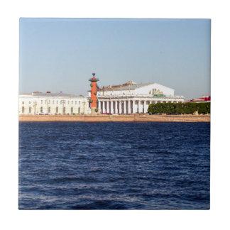 Old Saint Petersburg Stock Exchange Tiles