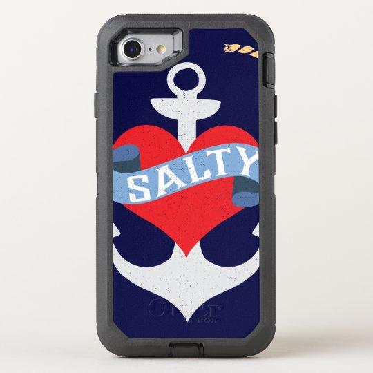Old Salt Anchor Boat Captain OtterBox Defender iPhone 8/7 Case