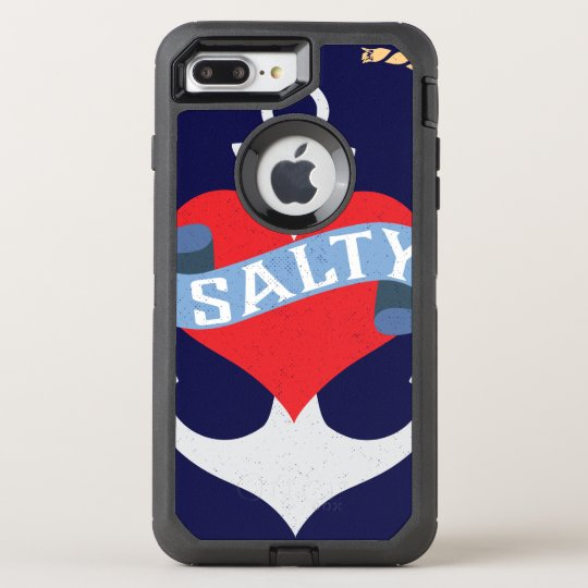 Old Salt Anchor Boat Captain OtterBox Defender iPhone 8 Plus/7 Plus Case