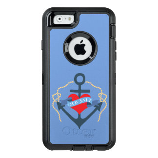 Old Salt Ship Anchor and Heart OtterBox iPhone 6/6s Case
