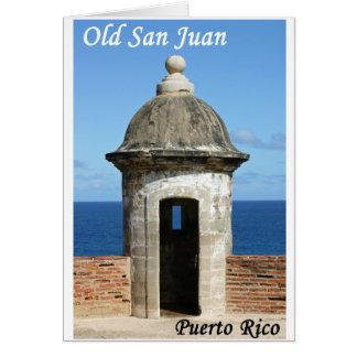 Old San Juan Card