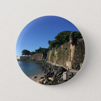 Old San Juan Historical Site 2 Inch Round Button