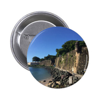 Old San Juan Historical Site 2 Inch Round Button