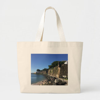 Old San Juan Historical Site Large Tote Bag