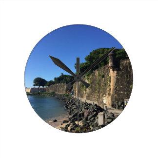 Old San Juan Historical Site Round Clock