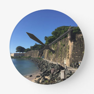 Old San Juan Historical Site Wallclock