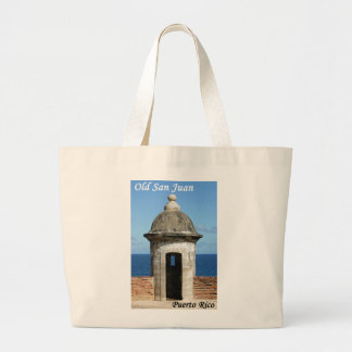 Old San Juan Large Tote Bag