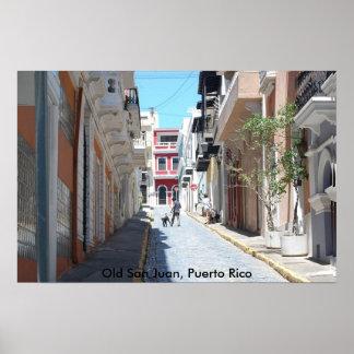 Old San Juan Poster