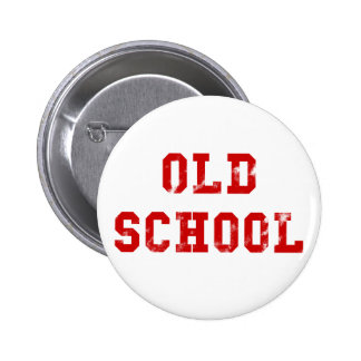 Old School 2 Inch Round Button