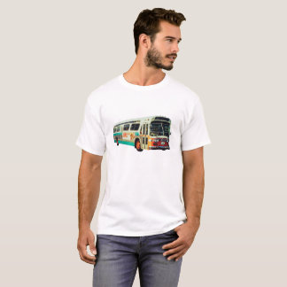 OLD SCHOOL AC TRANSIT BUS T-shirt