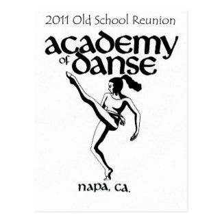 Old School Academy of Dance Reunion 2011 Postcard