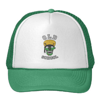 old school badass trucker hat