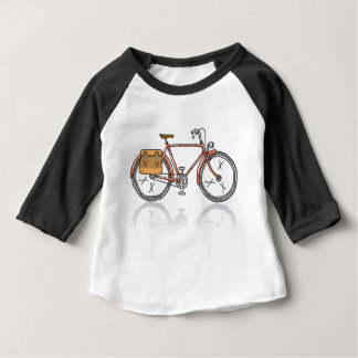 Old School Bicycle Sketch Baby T-Shirt