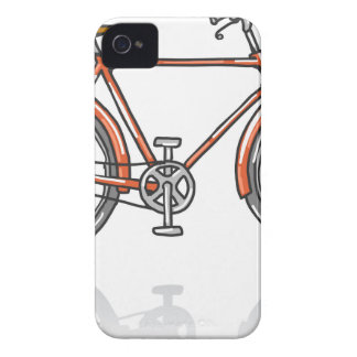 Old School Bicycle Sketch iPhone 4 Cover