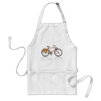 Old School Bicycle Sketch Standard Apron