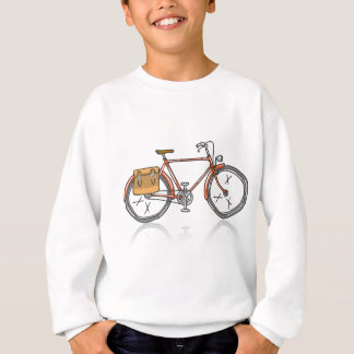 Old School Bicycle Sketch Sweatshirt