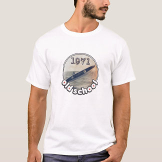Old School Boat 1971 T-Shirt