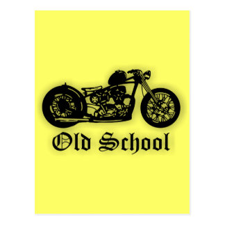 Old School Bobber Postcard