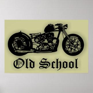 Old School Bobber Poster
