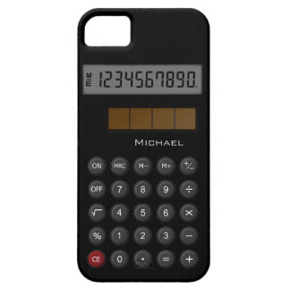 Old School Calculator iPhone 5 Cover